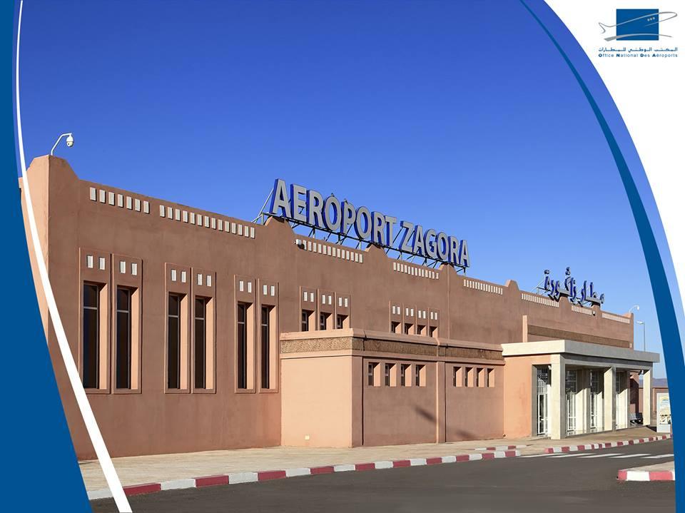 La nouvelle aérogare de l'aéroport de Zagora accueille ses premiers passagers