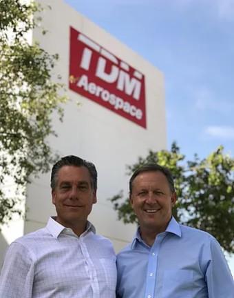 Juergen Viehrig and Lou Winoski, les fondateurs de TDM Aerospace