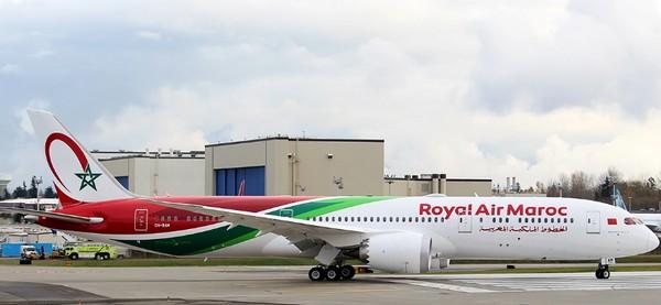 Royal Air Maroc reçoit son septième Dreamliner, deuxième B787-9