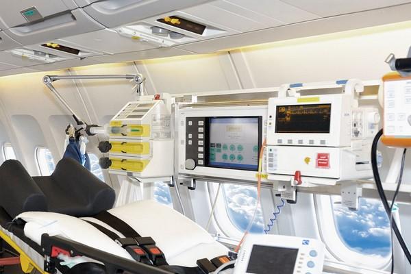 Un groupe d'industriels britanniques veulent convertir les avions cloués au sol en unités de soins intensifs