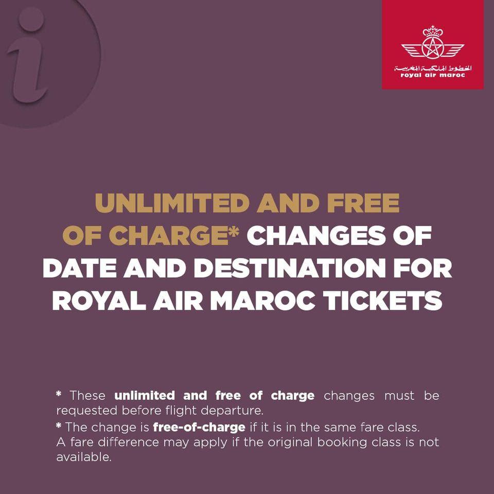 Royal Air Maroc annonce un maximum de flexibilité sur ses billets