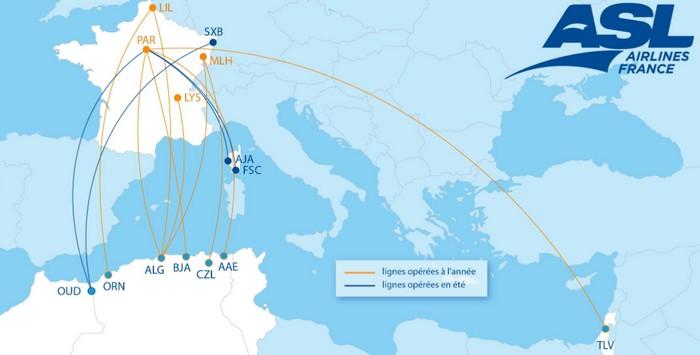 ASL Airlines relance ses vols réguliers vers le Maroc et l'Algérie dés l'été 2021