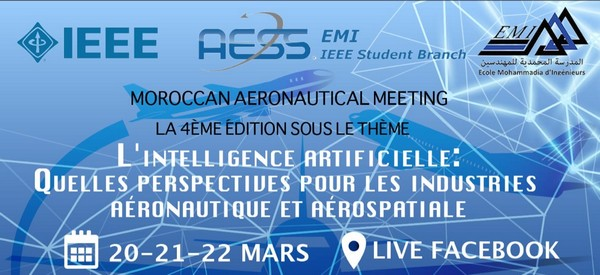 IEEE Aerospace and Electronic Systems Society EMI organise les 4e Journées nationales de l'aéronautique