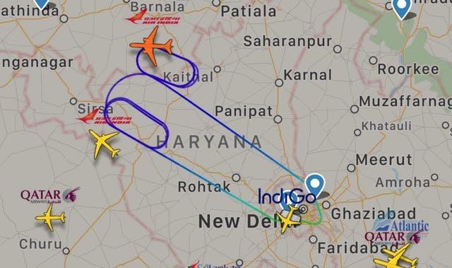 Le vol 105 d'Air India fait demi-tour après la découverte d'une chauve-souris à bord