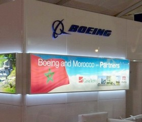 Stand Boeing - Marrakech Airshow