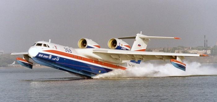 L'Algérie opterait pour huit Be-200 du constructeur russe Beriev Aircraft Company
