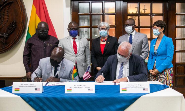 Ghana : Les USA subventionnent le projet de construction d'un centre MRO à Accra