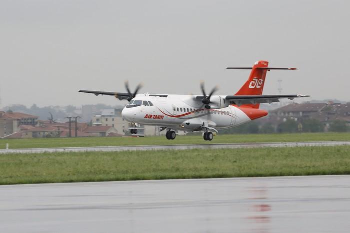 Air Tahiti modernise sa flotte et reçoit son premier ATR-600