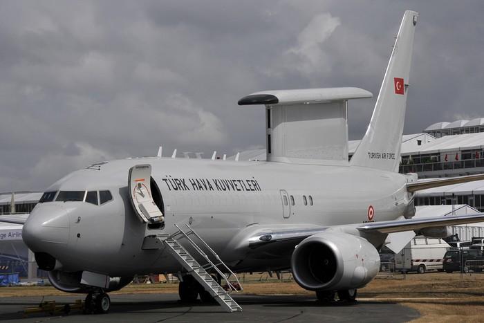 La Turquie reçoit son premier avion de surveillance B737 Peace Eagle