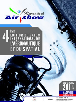 Marrakech Airshow 2014: 51 participating countries, 26 African delegations and 70 aircrafts on static display