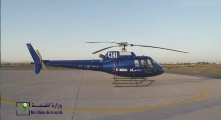 HéliSmur04: 56 heures de vol d'évacuation dans la région de Marrakech en une année