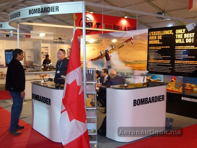 Bombardier au Marrakech Airshow 2012