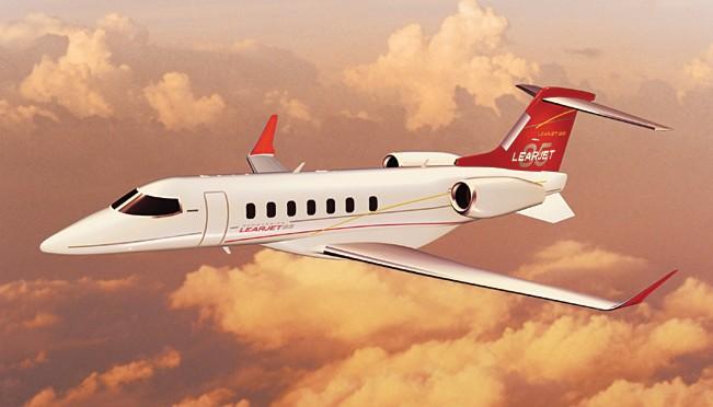 "Bombardier: Le Learjet 85 s'est ""comporté tel que prévu"" lors de son premier vol"