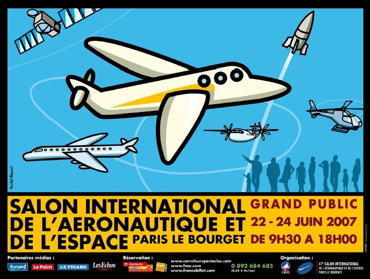 47ème édition du Salon International de l'aéronautique et de l'espace