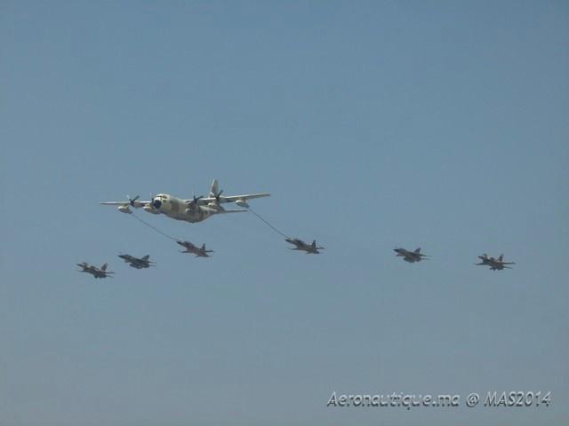 Marrakech Airshow 2014: Le Salon a été marqué par un impressionnant show aérien  (Photos)
