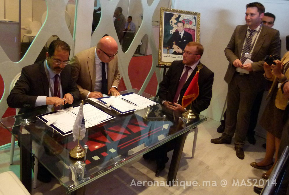 Marrakech Airshow 2014: Signature d'une convention entre ONDA et LH Aviation Maroc