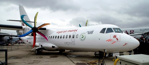Marrakech Airshow 2014: Royal Air Maroc Express reçoit son cinquième ATR 72-600