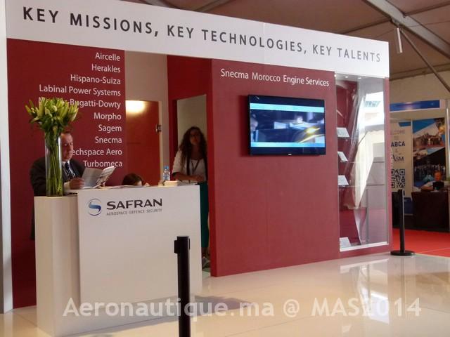 Marrakech Airshow 2014: La nacelle du Learjet 85 produite à 50% à l'usine d'Aircelle de Casablanca