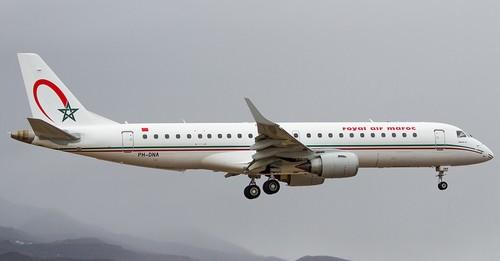 Royal Air Maroc renforce sa flotte avec quatre Embraer 190