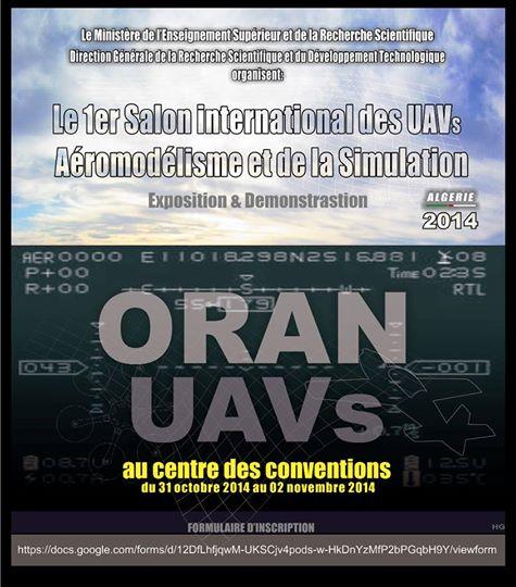 L'Algérie accueille le premier Salon international des drones et de l'aéromodélisme