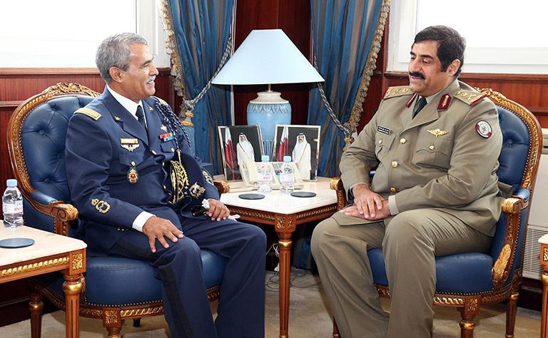 Le major général Ahmed Saihi, Commandant des écoles de la force aérienne royale marocaine