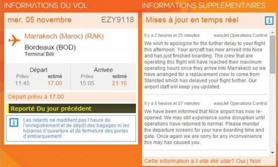 Easyjet: Plus de 150 passagers bloqués pendant 24 heures à l'aéroport de Marrakech
