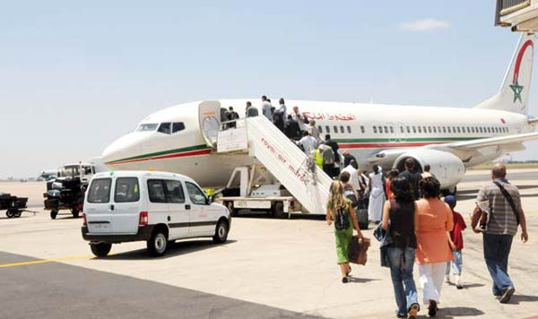 Maroc: La taxe aérienne génère plus de 200 MDh en cinq mois