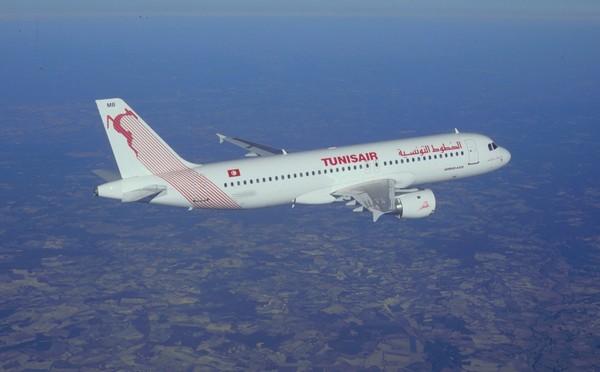 """Tunisair reçoit un nouvel avion """"Farhat Hached"""" de type Airbus A320"""