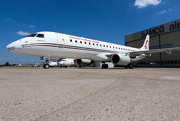 Royal Air Maroc reçoit son quatrième Embraer E190, le 52ème avion de sa flotte