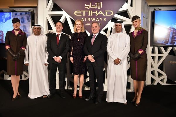 Nicole Kidman devient la nouvelle égérie d'Etihad Airways (Vidéo)