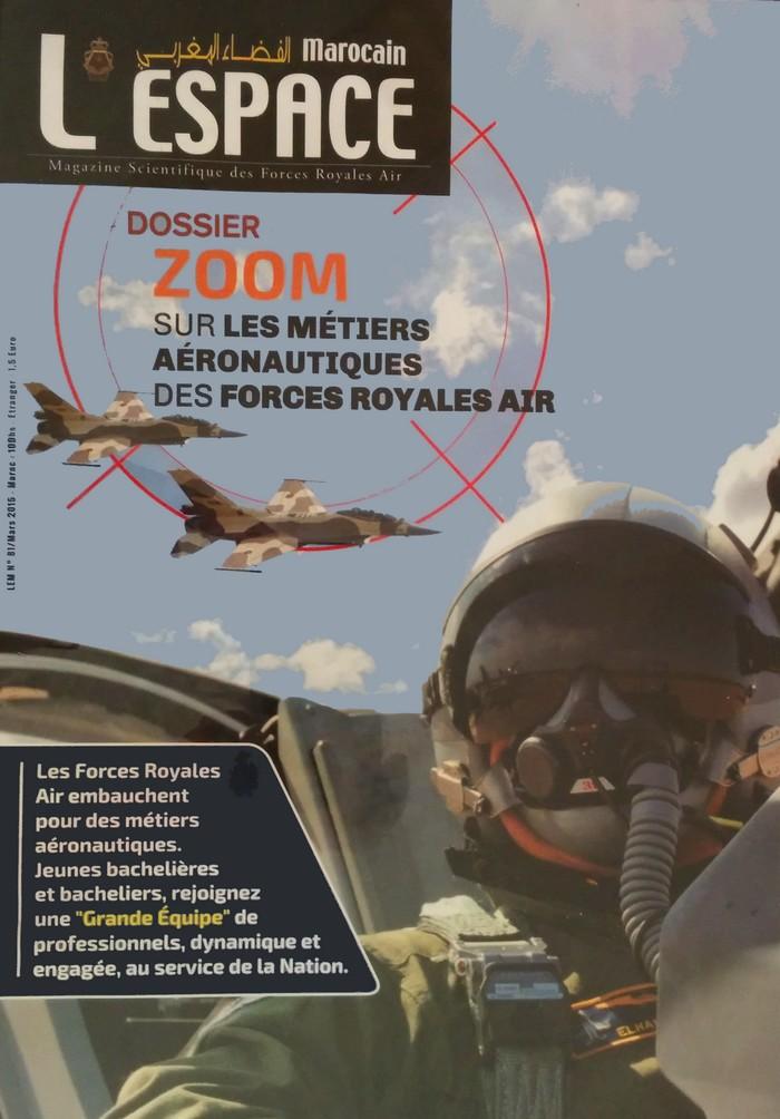 Le nouveau numéro de l'Espace Marocain, magazine des Forces Royales Air, est disponible en kiosque