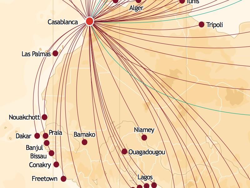 Royal Air Maroc contribue à la promotion du tourisme sénégalais