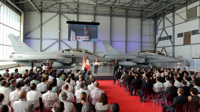 L'Egypte reçoit ses trois premiers avions Rafale