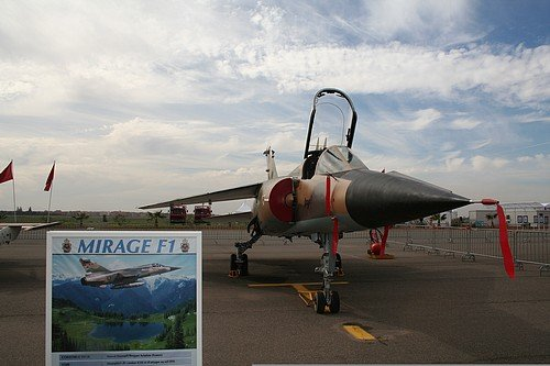 Maroc: Crash d'un Mirage F1 suite à une collision aviaire