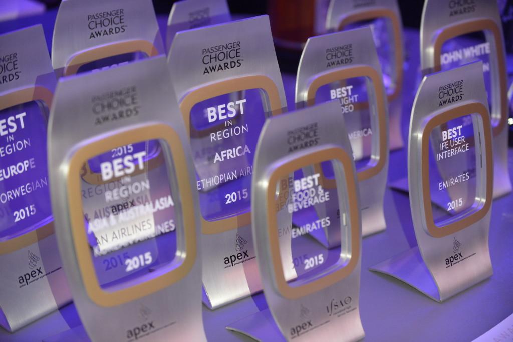 APEX Awards: Emirates s'offre sept trophées, Ethiopian Airlines la plus nominée