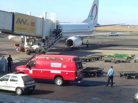 Ph. Alerte suite à un cas suspect à bord d'un vol entre Sierra Leone et Casablanca