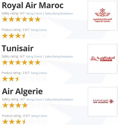 Royal Air Maroc une compagnie sûre avec un produit de qualité moyenne selon AirlineRatings