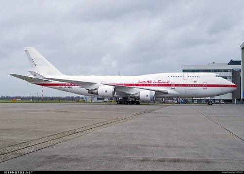 Un Boeing 747 VIP offert à la famille royale du Royaume du Maroc