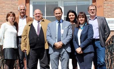 Accord de partenariat entre l'Académie internationale Mohammed VI de l'Aviation Civile et l'Ecole Tarbes- ENIT