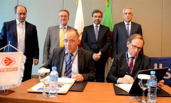 Mémorandum d'entente de partenariat pour la réparation en Algérie des moteurs Rolls-Royce