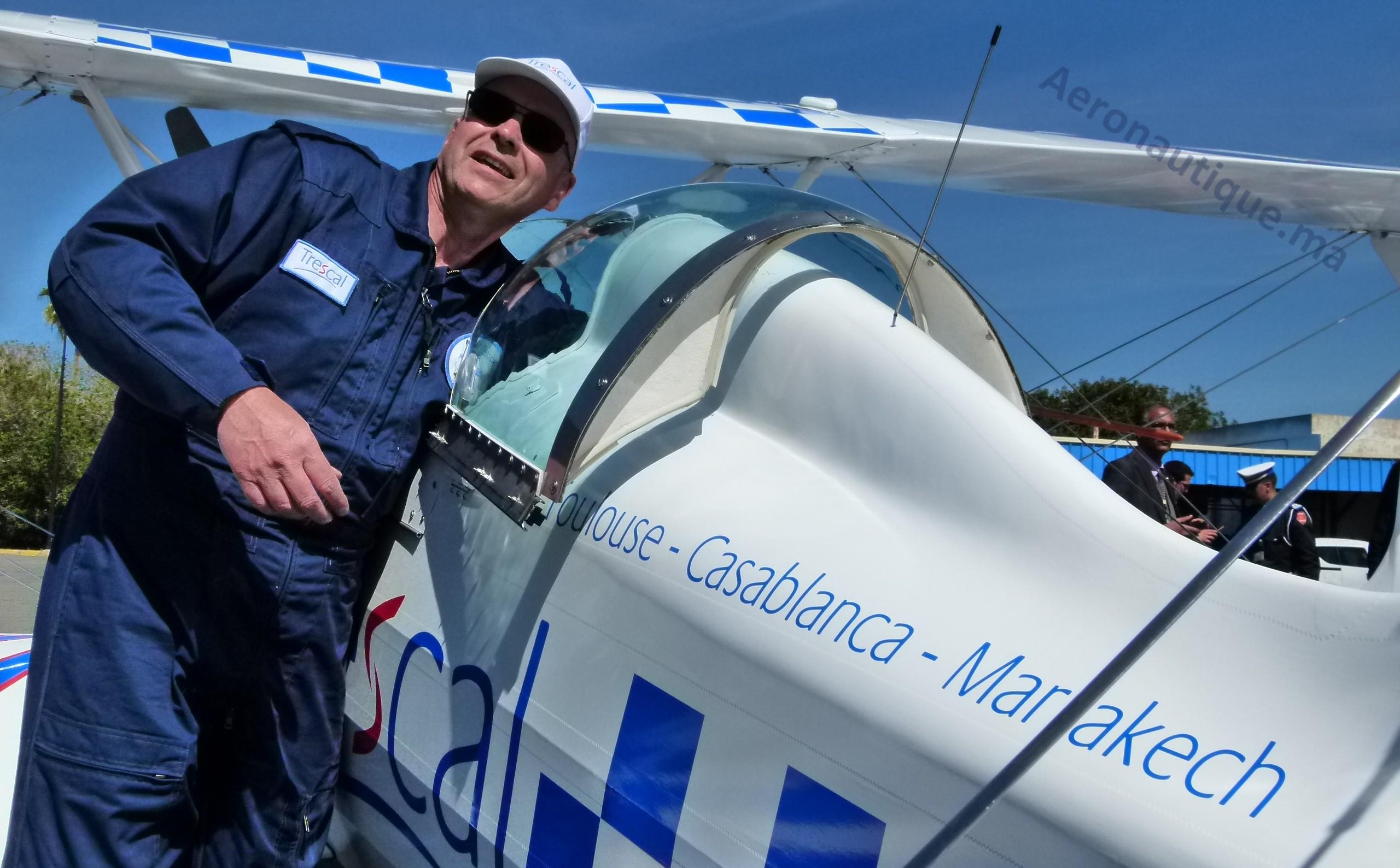 Jean-Marc D'hulst, Dir. Adjoint Trescal France, un des deux pilote du Starduster