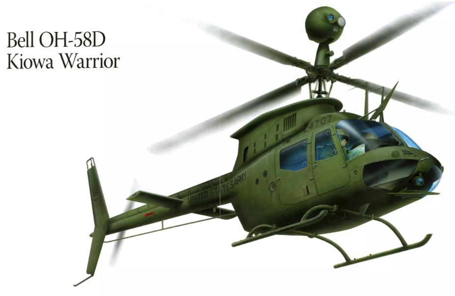 La DSCA approuve l'achat de 24 hélicoptères Kiowa par la Tunisie