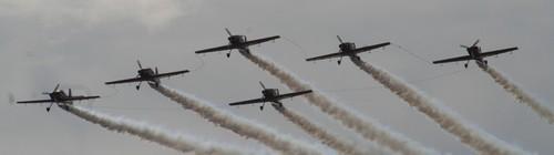 'La marche verte' participe au meeting aérien de castres