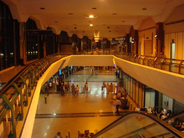 Aéroport Mohammed V: Le terminal 1 dédié aux vols internes