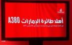 Arrivee de l'A380 d'Emirates à l'aéroport MohammedV de Casablanca (Vidéo)