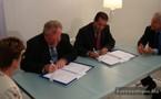 Bourget 2009: Signature d'une convention entre l'ONDA et le groupe Protec Services Industrie Maroc
