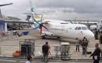 Bourget 2011: Le premier exemplaire de l'ATR72-600 aux couleurs de Royal AIr Maroc