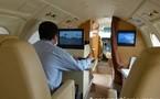 Marrakech Airshow 2012: Premier long vol du Falcon 50 Camera de Toulouse à Marrakech