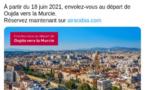 Air Arabia Maroc reprend ses vols entre le Maroc et l'Europe à partir du 17 juin