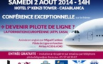 Air Form Maroc organise une conférence sur le thème de la formation et du métier de Pilote de Ligne